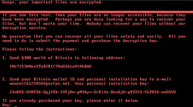 Nyetya ransom