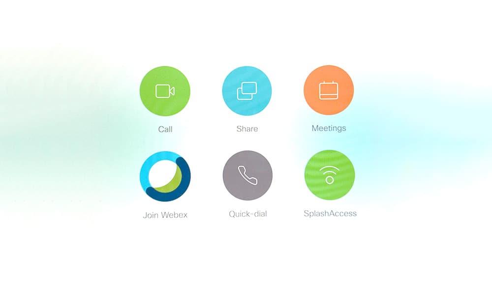 Splash Access webex touch