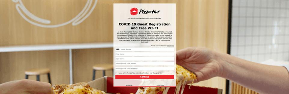 Pizza Hut Covid Registration