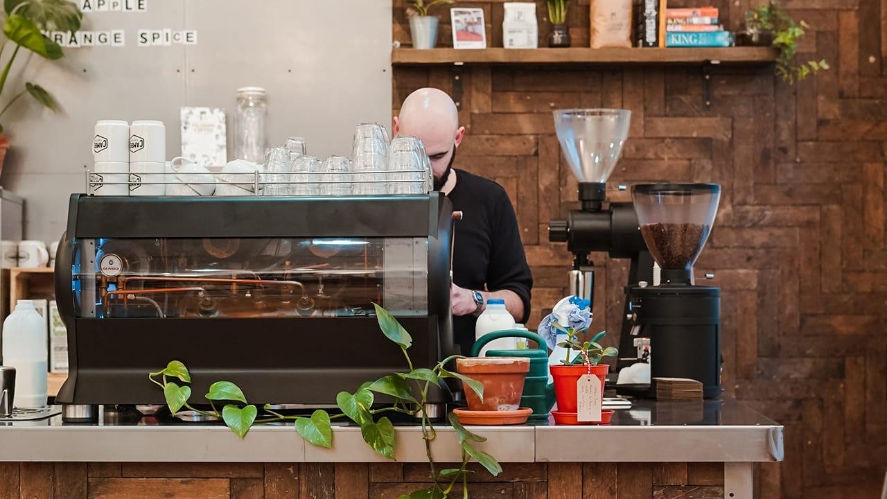 coffee shop pay