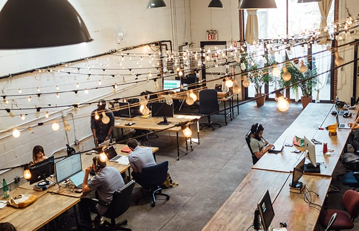 co-working office